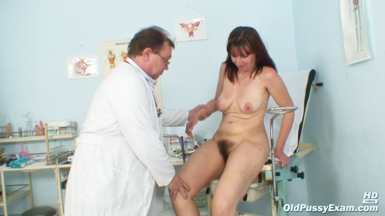 Milf the anal exam